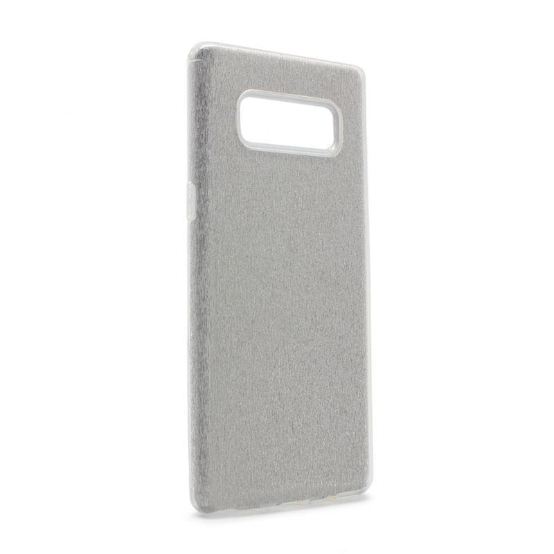 Case Crystal Dust for Samsung Galaxy Note 8 N950F, silver