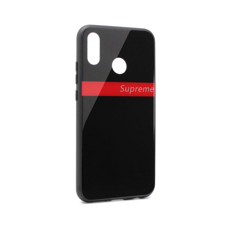 timeless design f894e ae3e8 GLASS Supreme Case for Huawei P20 lite, black