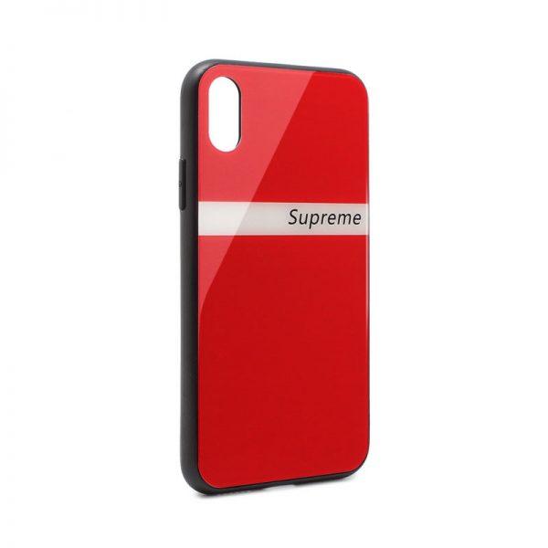 ovitek-glass-supreme-za-iphone-x-iphone-xs-rdeca