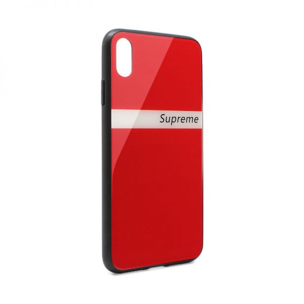 ovitek-glass-supreme-za-iphone-xs-max-rdeca