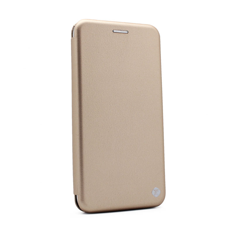 huge discount bbe18 83b59 Flip Cover Case for Huawei Y6 II gold