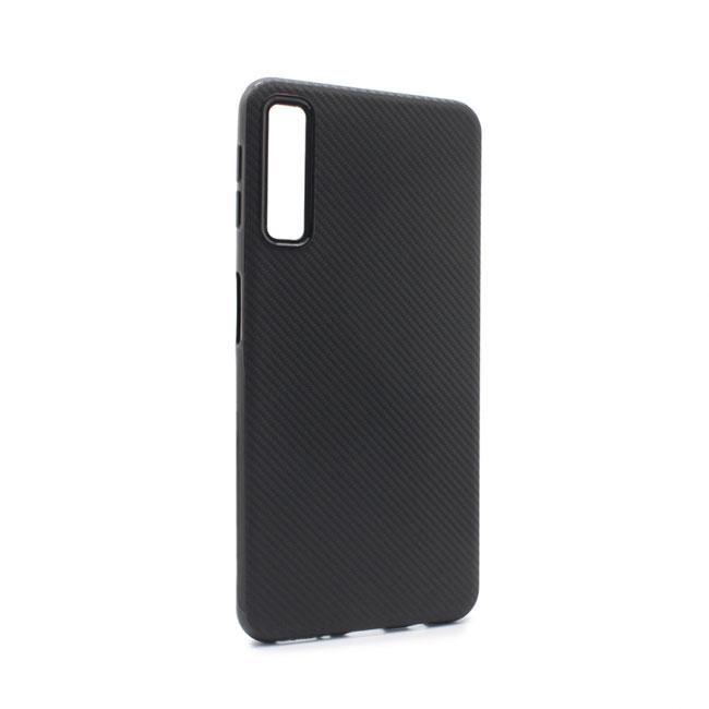 Case Luo Carbon fiber for Samsung A750F Galaxy A7 2018, black