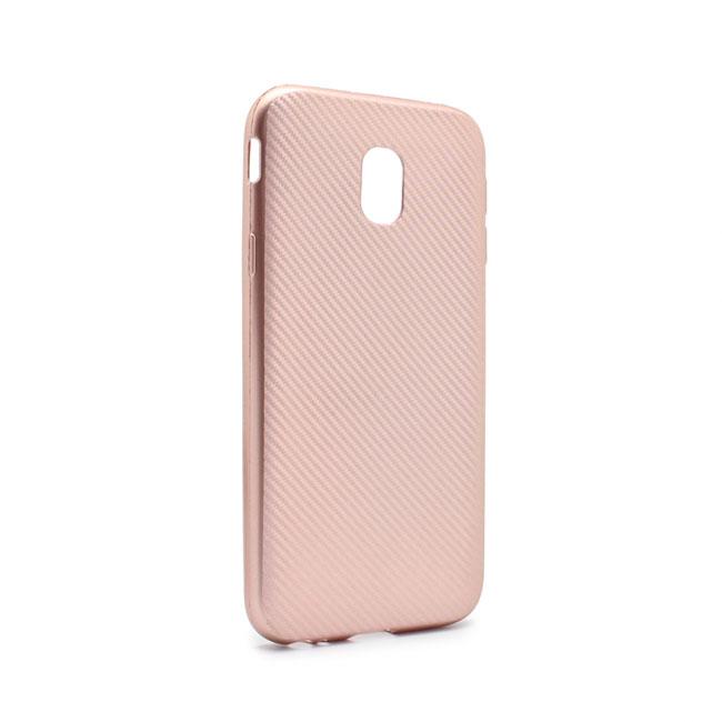Case Luo Carbon fiber for Samsung J530F Galaxy J5 2017 (EU), pink