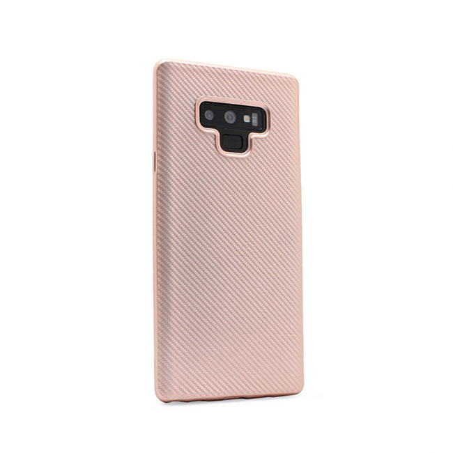Case Luo Carbon fiber for Samsung N960 Note 9, pink