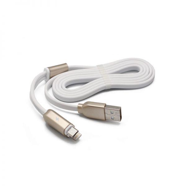 podatkovni-in-polnilni-kabel-remax-binary-rc-025t-za-iphone-5-iphone-6-6s-micro-usb-beli-1m