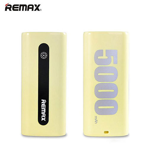Powerbank-Remax-E5-Series-5000mAh-RPL-2-yellow