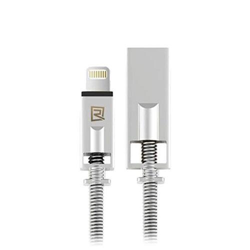polnilni-kabel-Remax-RC-056i-lightning-srebrna