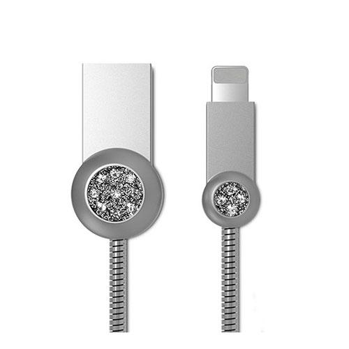 polnilni-kabel-Remax-RC-085i-srebrna