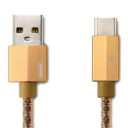 polnilni-kabel-Remax-RC-110a-zlata