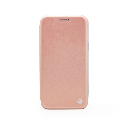 low cost 48f47 b6322 Case Flip Cover for Samsung J320 Galaxy J3 2016, rose gold