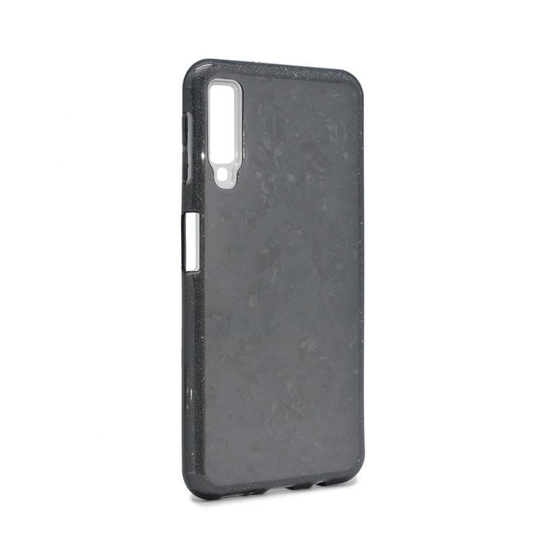 Phone case Crystal Cut for Samsung Galaxy A7 2018 A750FN, black