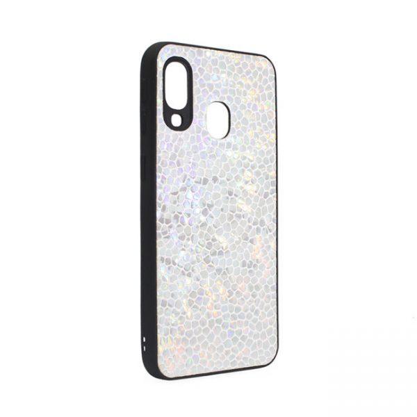 ovitek-stone-leather-za-samsung-galaxy-a-40-srebrna