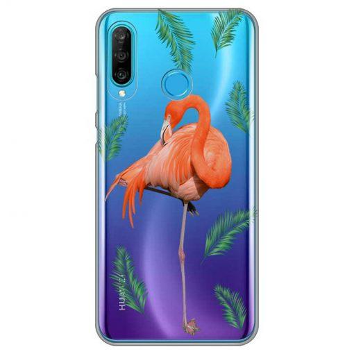 silikonski-ovitek-za-huawei-p-30-lite-summer-flamingo