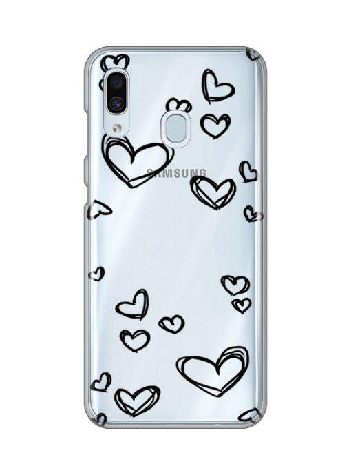 silikonski-ovitek-za-samsung-galaxy-a-30-black-hearts
