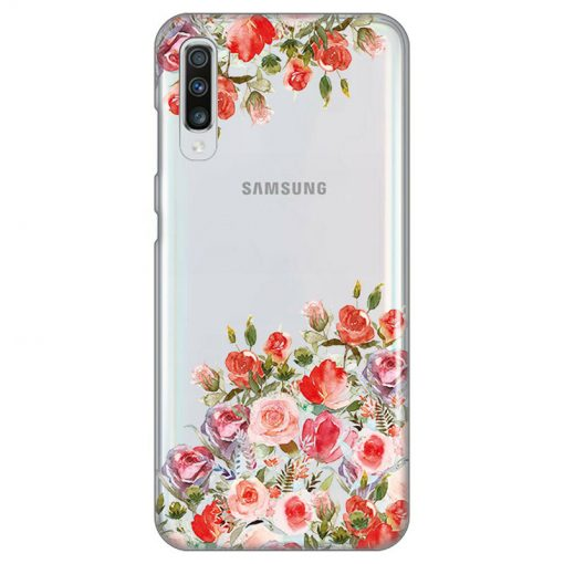 silikonski-ovitek-za-samsung-galaxy-a-70-flowers