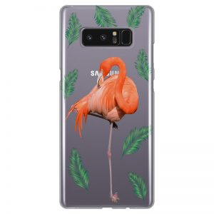 silikonski-ovitek-za-samsung-galaxy-note-8-summer-flamingo