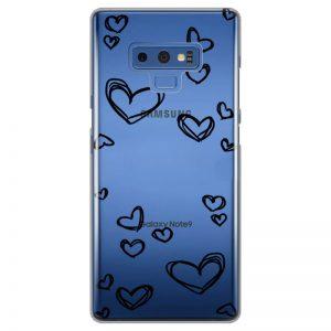 silikonski-ovitek-za-samsung-galaxy-note-9-black-hearts
