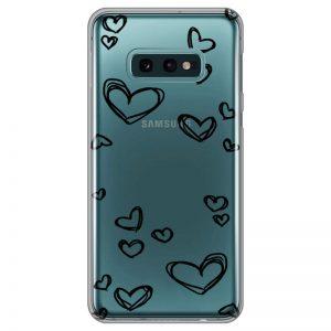 silikonski-ovitek-za-samsung-galaxy-s-10-e-black-hearts