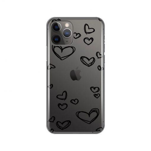 silikonski-ovitek-za-iphone-11-pro-black-hearts