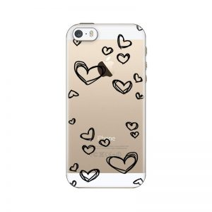 silikonski-ovitek-za-iphone-5-5s-se-black-hearts