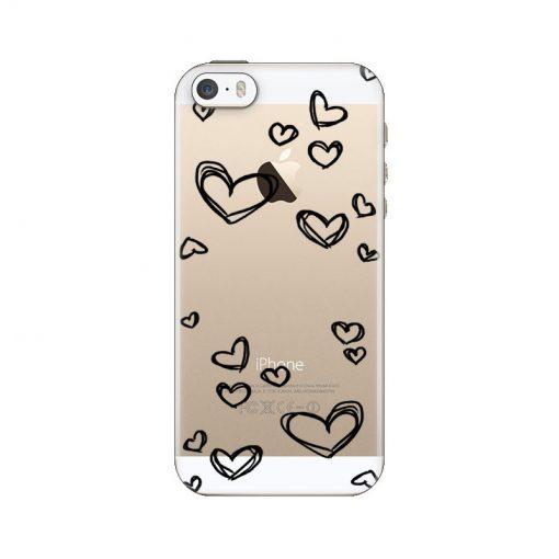silikonski-ovitek-za-iphone-5-5s-se-black-hearts