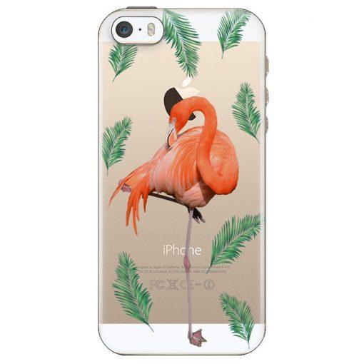 silikonski-ovitek-za-iphone-5-5s-se-flasummer-flamingo