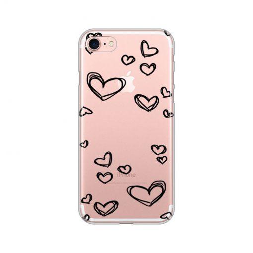 silikonski-ovitek-za-iphone-7-8-black-hearts