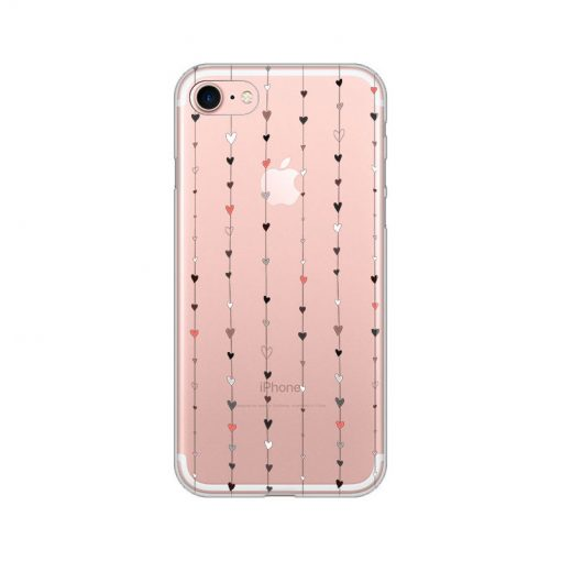 silikonski-ovitek-za-iphone-7-8-hearts