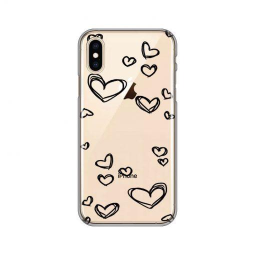 silikonski-ovitek-za-iphone-x-xs-black-hearts