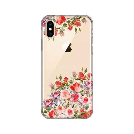 silikonski-ovitek-za-iphone-x-xs-flowers