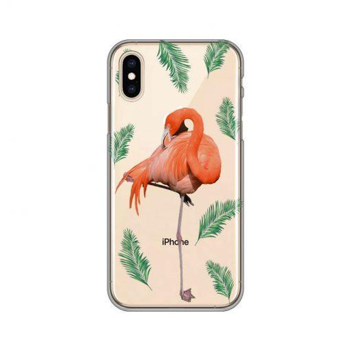 silikonski-ovitek-za-iphone-x-xs-summer-flamingo