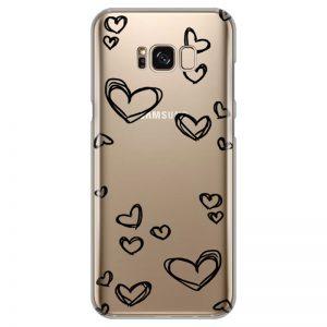 silikonski-ovitek-za-samsung-galaxy-s-8-plus-black-hearts