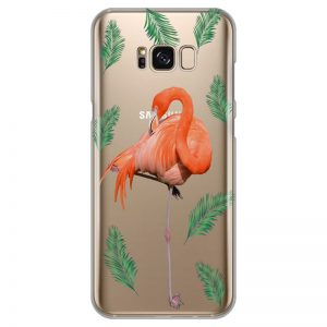 silikonski-ovitek-za-samsung-galaxy-s-8-plus-summer-flamingo