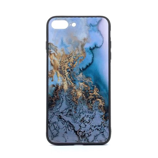 ovitek glass za iphone se 2020 blue marble