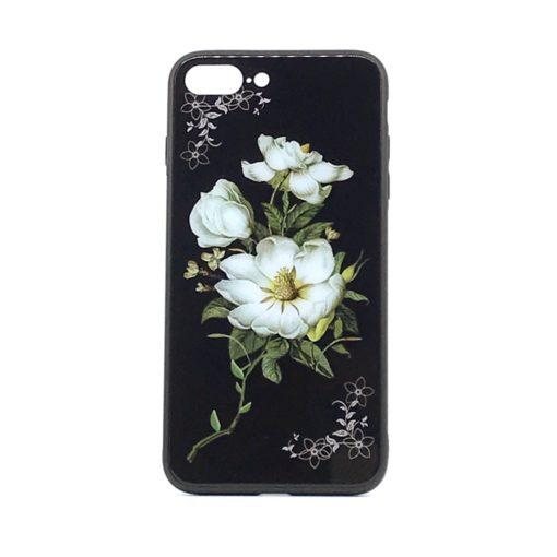 ovitek glass za iphone se 2020 flower