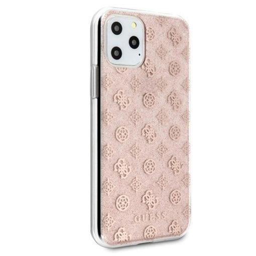 ovitek guess za iphone 11 pro max peony glitter roza 2
