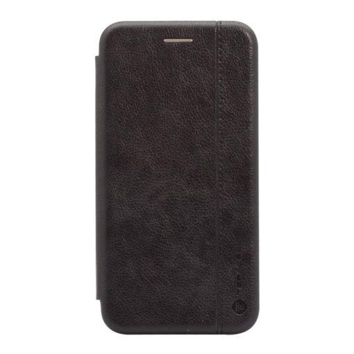 preklopni etui leather za iphone se 2020 crna