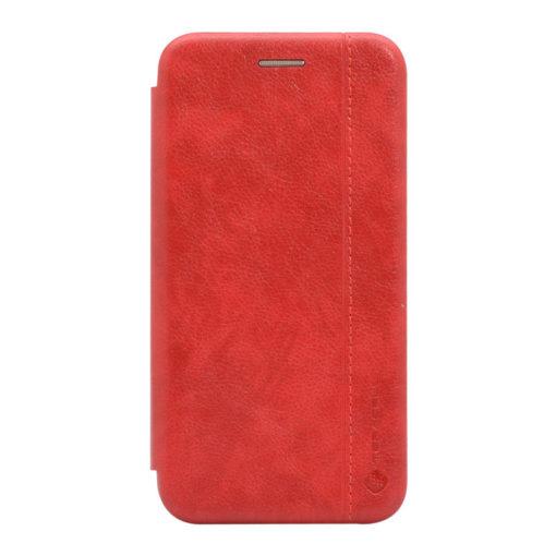 preklopni etui leather za iphone se 2020 rdeca