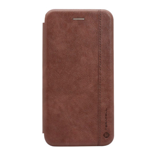 preklopni etui leather za iphone se 2020 rjava