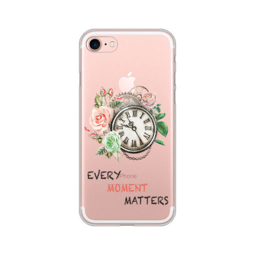 silikonski ovitek za iphone se 2020 every moment matters