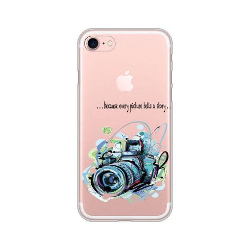 silikonski ovitek za iphone se 2020 every picture tells a story