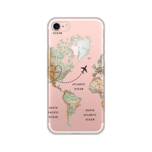 silikonski ovitek za iphone se 2020 the map