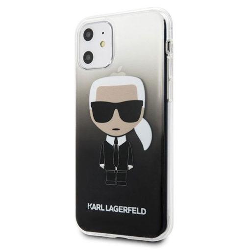 ovitek karl lagerfeld za iphone 11 crna 1