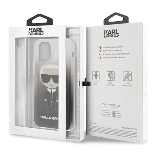 ovitek karl lagerfeld za iphone 11 crna 4