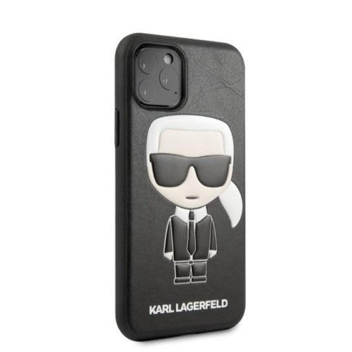 ovitek karl lagerfeld za iphone 11 pro crna leather 2