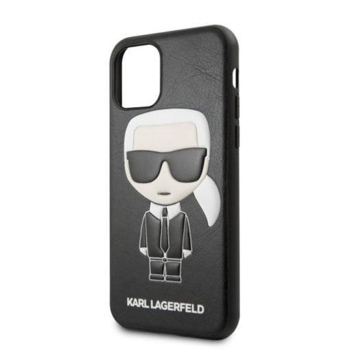 ovitek karl lagerfeld za iphone 11 pro crna leather 3