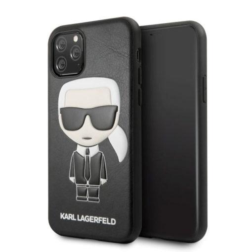 ovitek karl lagerfeld za iphone 11 pro crna leather