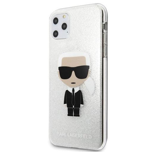 ovitek karl lagerfeld za iphone 11 pro max srebrna 1