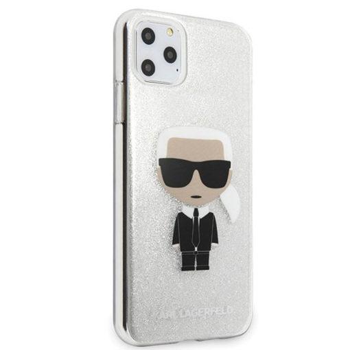 ovitek karl lagerfeld za iphone 11 pro max srebrna 3