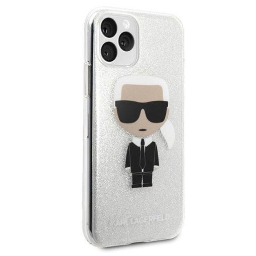 ovitek karl lagerfeld za iphone 11 pro srebrna 3